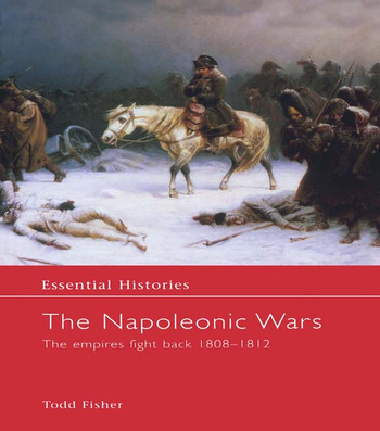 The Napoleonic Wars The Empires Fight Back 1808-1812 book cover