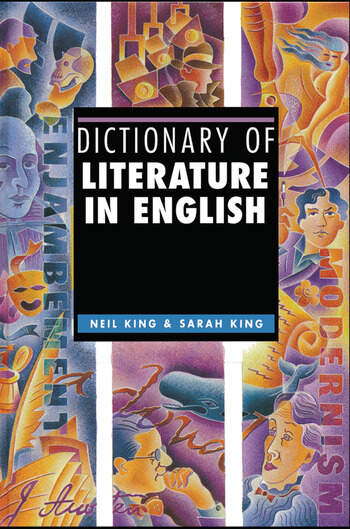 Dictionary of Literature in English book cover