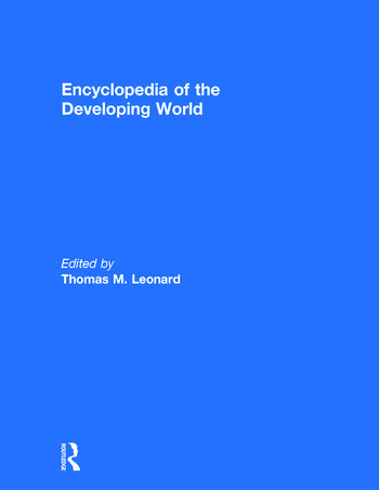 Encyclopedia of the Developing World book cover