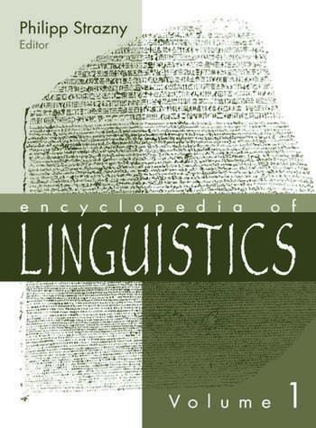 Encyclopedia of Linguistics book cover