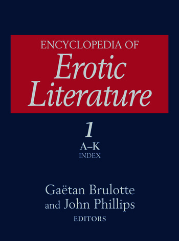 Encyclopedia of Erotic Literature book cover