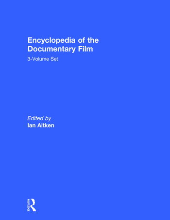 Encyclopedia of the Documentary Film 3-Volume Set book cover