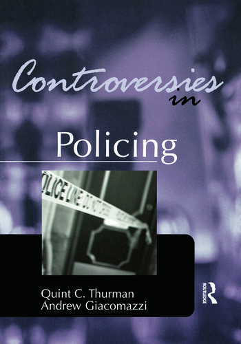Controversies in Policing book cover