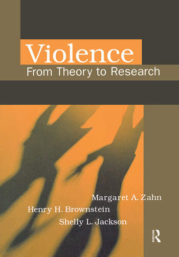 Violence From Theory to Research book cover