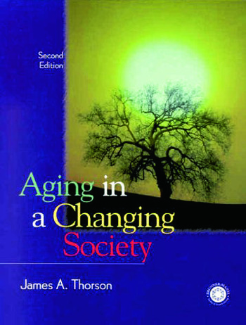 Aging in a Changing Society book cover