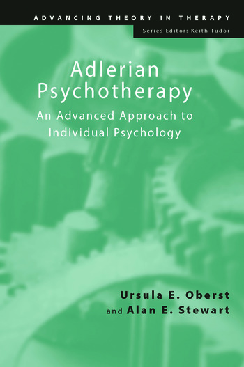 Adlerian Psychotherapy An Advanced Approach to Individual Psychology book cover