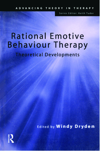 Rational Emotive Behaviour Therapy Theoretical Developments book cover