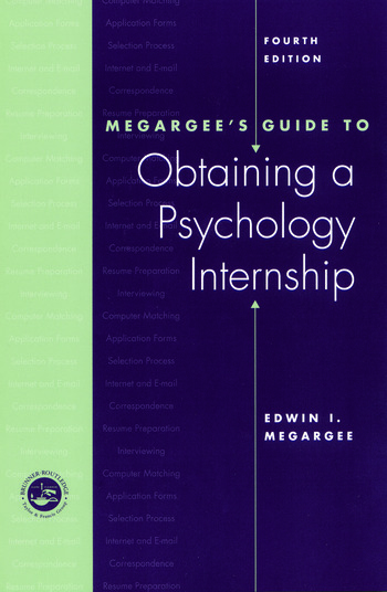 Megargee's Guide to Obtaining a Psychology Internship book cover