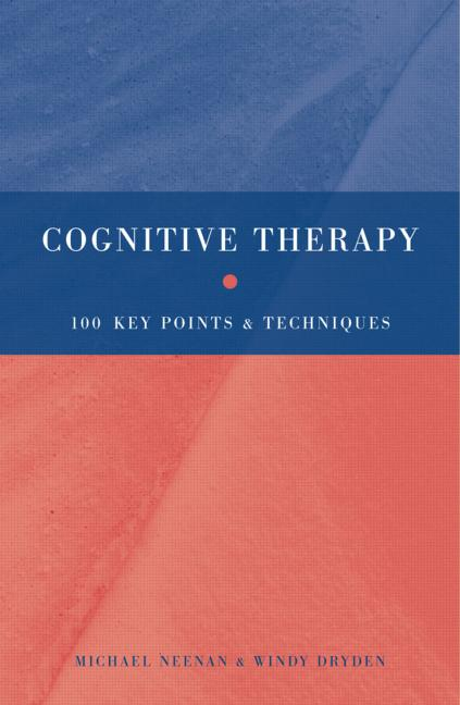 Cognitive Therapy 100 Key Points and Techniques book cover