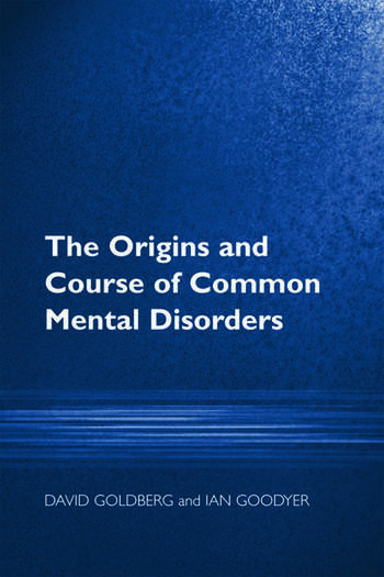 The Origins and Course of Common Mental Disorders book cover