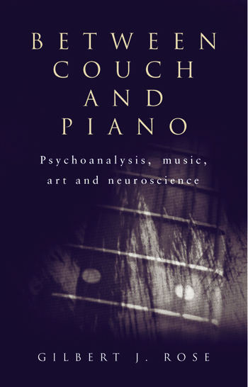 Between Couch and Piano Psychoanalysis, Music, Art and Neuroscience book cover