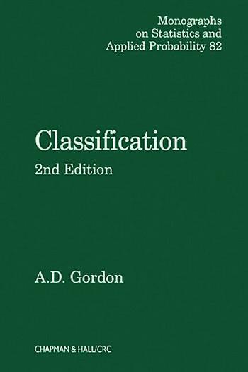 Classification book cover