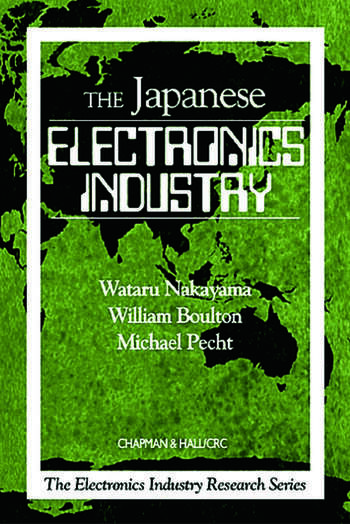 The Japanese Electronics Industry book cover