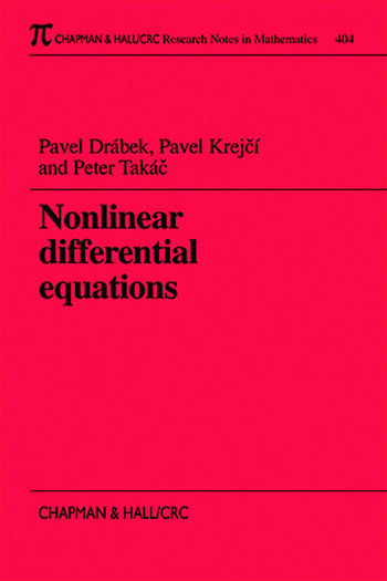 Nonlinear Differential Equations book cover