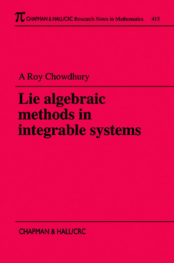 Lie Algebraic Methods in Integrable Systems book cover