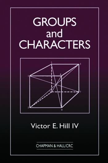 Groups and Characters book cover