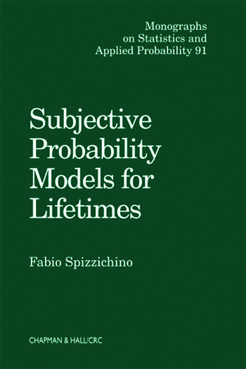 Subjective Probability Models for Lifetimes book cover