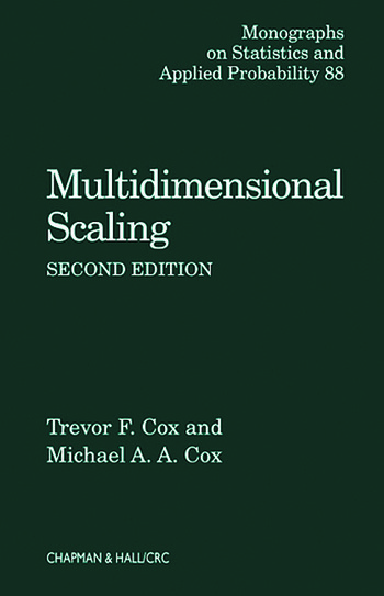 Multidimensional Scaling book cover