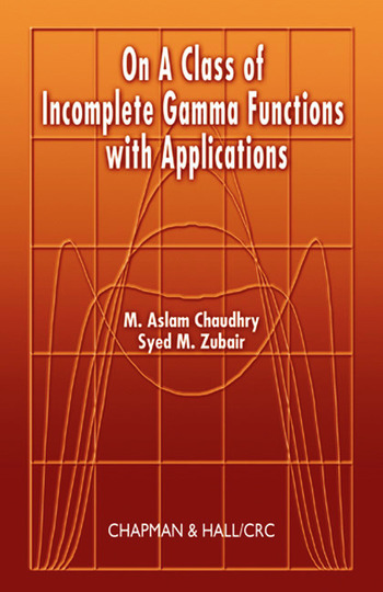 On a Class of Incomplete Gamma Functions with Applications book cover