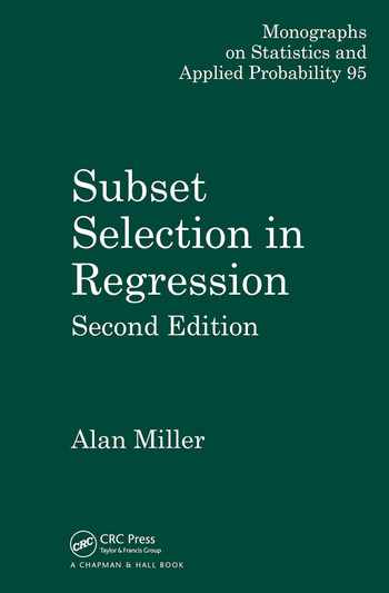 Subset Selection in Regression book cover