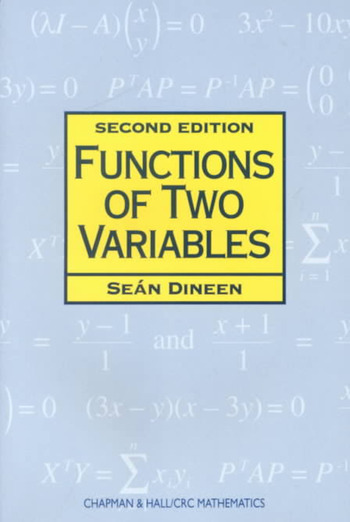 Functions of Two Variables book cover