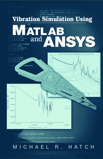 Vibration Simulation Using MATLAB and ANSYS book cover