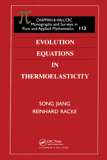 Evolution Equations in Thermoelasticity book cover