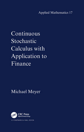 Continuous Stochastic Calculus with Applications to Finance book cover