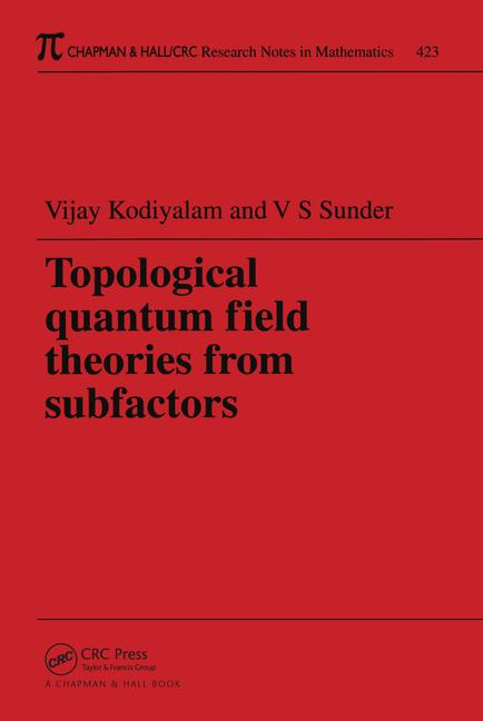 Topological Quantum Field Theories from Subfactors book cover