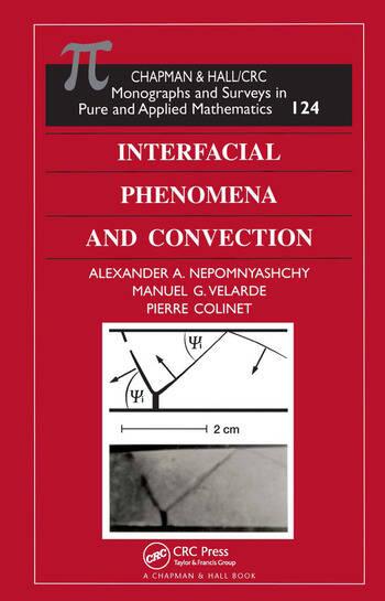 Interfacial Phenomena and Convection book cover