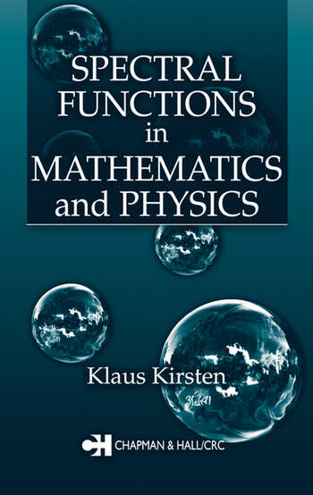 Spectral Functions in Mathematics and Physics book cover