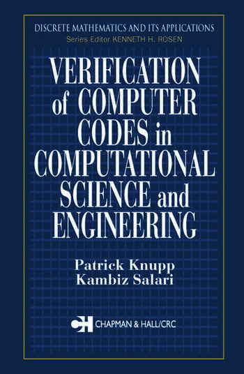 Verification of Computer Codes in Computational Science and Engineering book cover