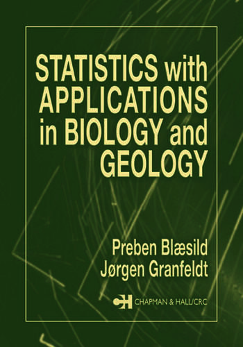 Statistics with Applications in Biology and Geology book cover