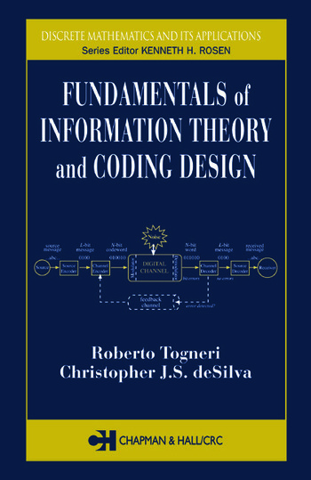 Fundamentals of Information Theory and Coding Design book cover