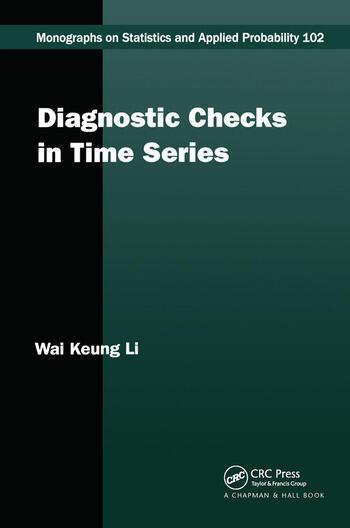 Diagnostic Checks in Time Series book cover