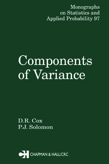 Components of Variance book cover