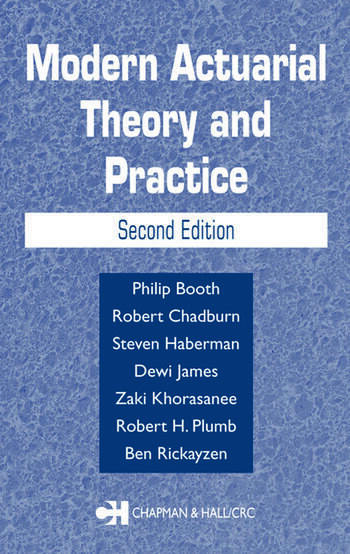 Statistical and probabilistic methods in actuarial science crc modern actuarial theory and practice second edition fandeluxe Choice Image