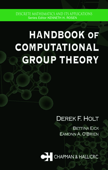Handbook of Computational Group Theory book cover
