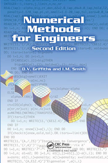 Numerical Methods for Engineers, Second Edition book cover