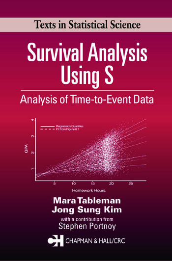 Survival Analysis Using S Analysis of Time-to-Event Data book cover