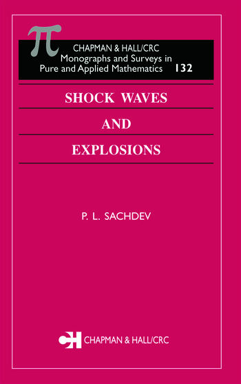 Shock Waves & Explosions book cover