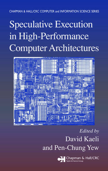 Speculative Execution in High Performance Computer Architectures book cover