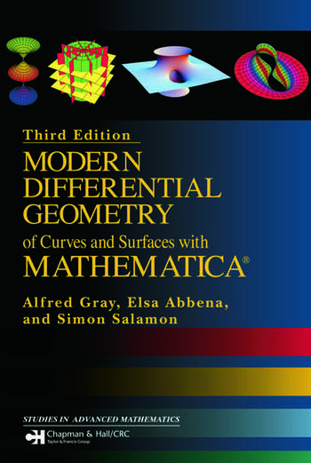 Modern Differential Geometry of Curves and Surfaces with Mathematica book cover