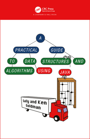 A Practical Guide to Data Structures and Algorithms using Java book cover