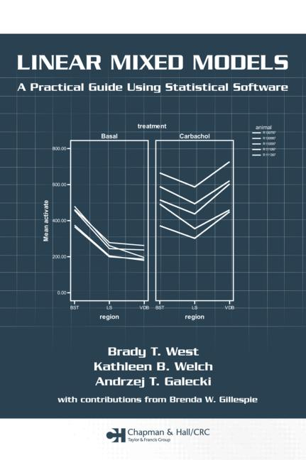 Linear Mixed Models A Practical Guide Using Statistical Software book cover