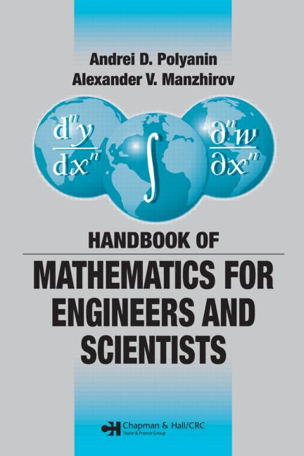 Handbook of Mathematics for Engineers and Scientists book cover