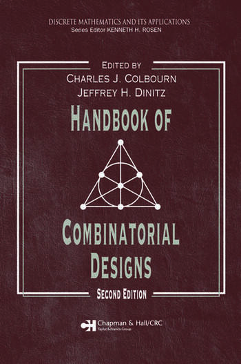 Handbook of Combinatorial Designs book cover