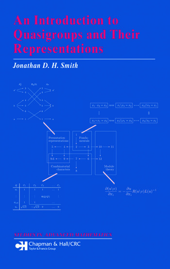 An Introduction to Quasigroups and Their Representations book cover