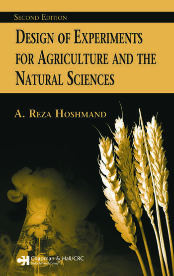 Design of Experiments for Agriculture and the Natural Sciences book cover