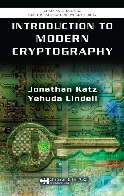 Introduction to Modern Cryptography Principles and Protocols book cover